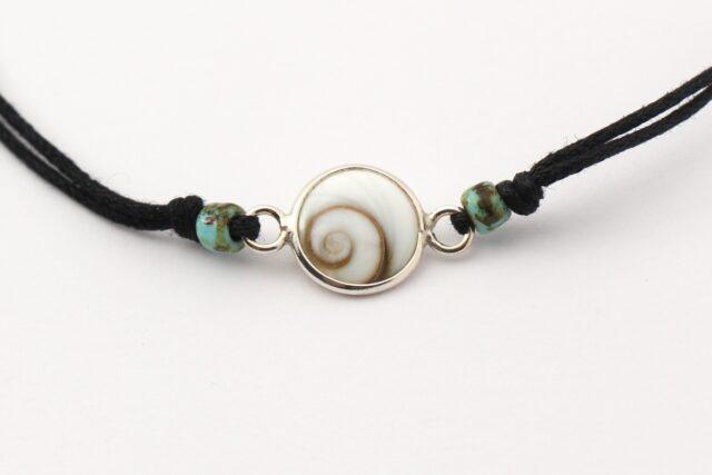 Armband - Zarte Armbaender - Auge der Shiva - front