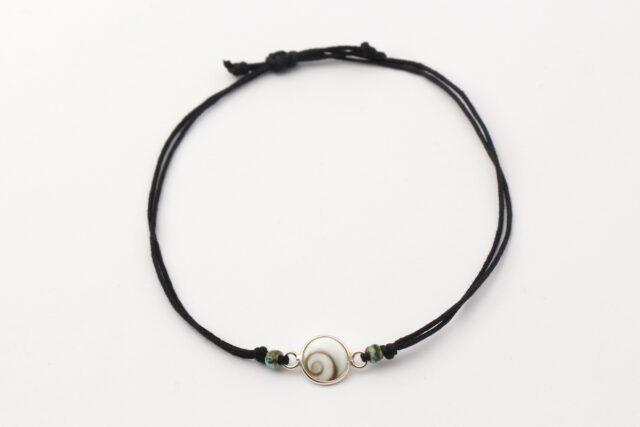 Armband - Zarte Armbaender - Auge der Shiva - ganz