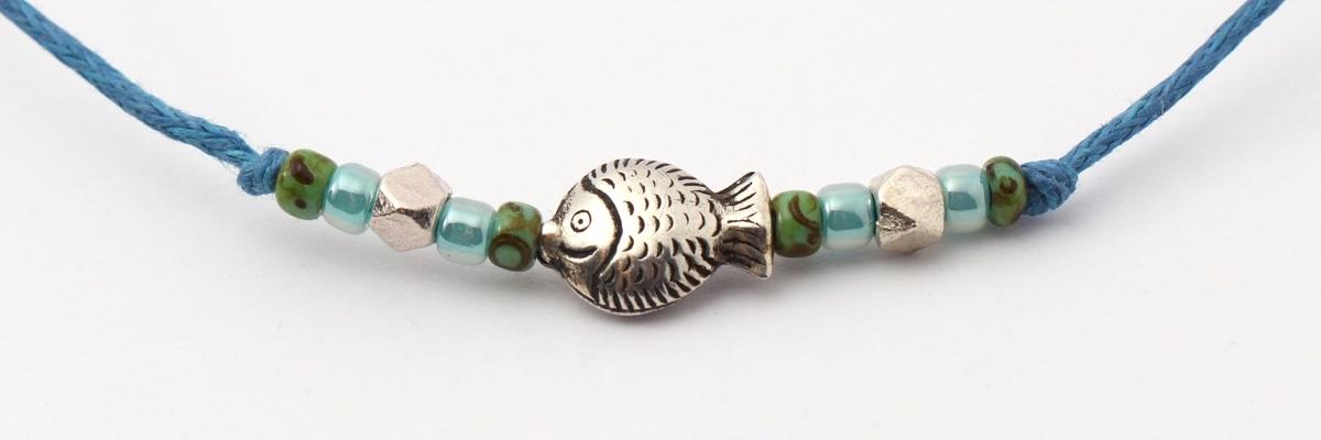 Armband - Zarte Armbaender - Fisch - front