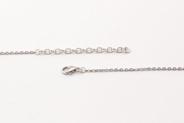 Kette - Zarte Colliers - Stranddiamant - Verschluss